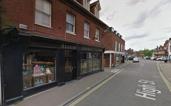Masked raiders flee after 'smoke cloak' activates at jewellers