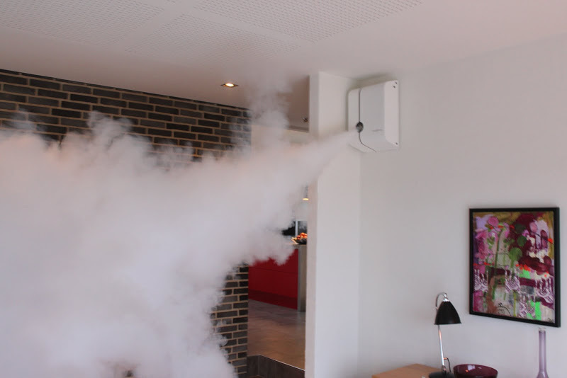 Residential Home Security Smoke Fog Security Business